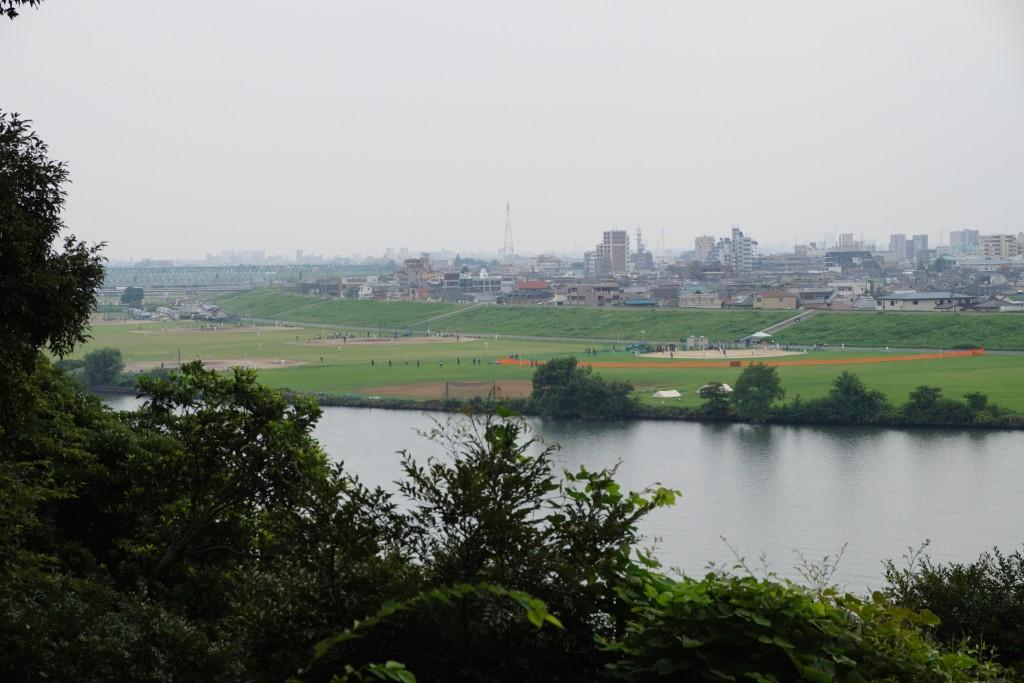 江戸川区を見渡す景色