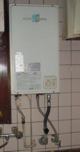 台所温水器