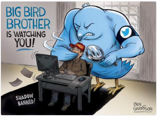 twitterによる検閲
